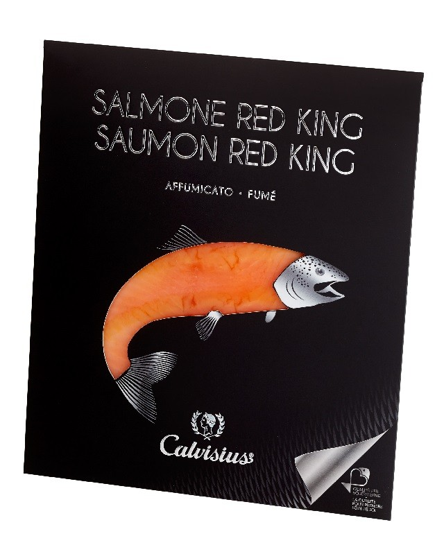 Salmone Red King affumicato